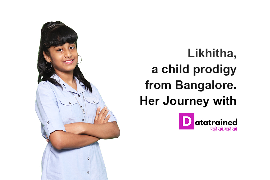 India's Youngest Data Scientist | Likhita's Data Science Journey with DataTrained