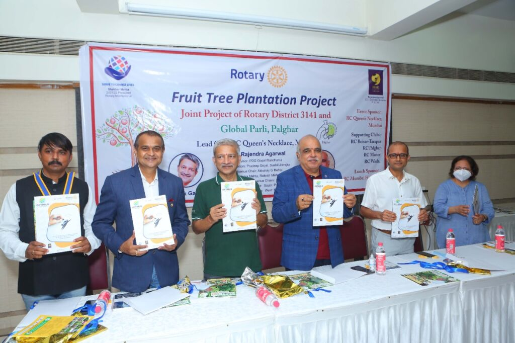 Rotary District 3141 Commences the Year with a 25 Lakh Fruit Tree Plantation Project by Rotary District Governor Rajendra Agarwal