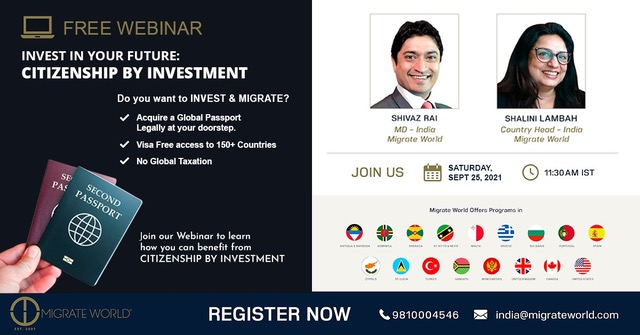Invest In Your Future: Citizenship by Investment